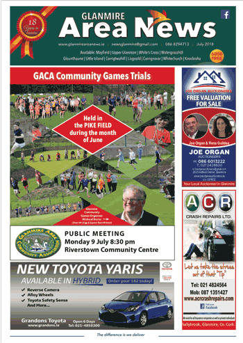 July 2018 Glanmire Area News