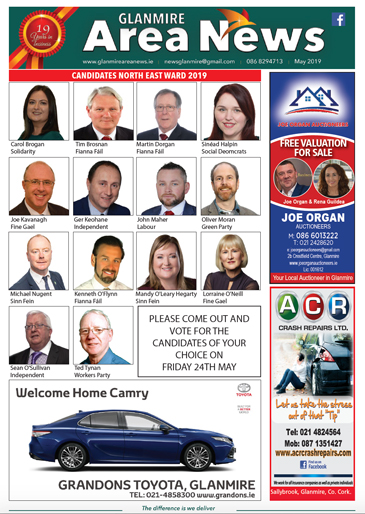 Glanmire Area News May 2019