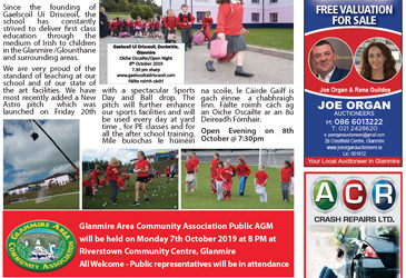 Glanmire Area News October 2019