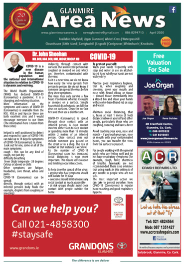 Glanmire Area News April 2020