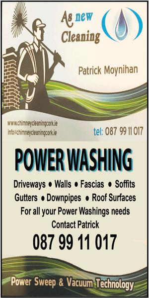 Power Washing Patrick Moynihan