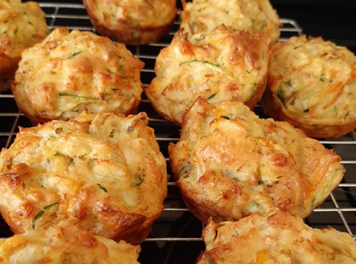 ICA July 2020 Zucchini muffins