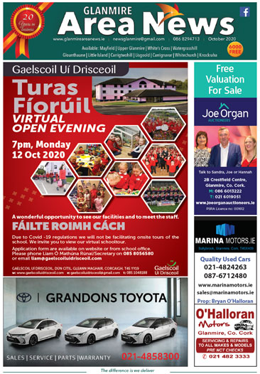 Glanmire Area News October 2020