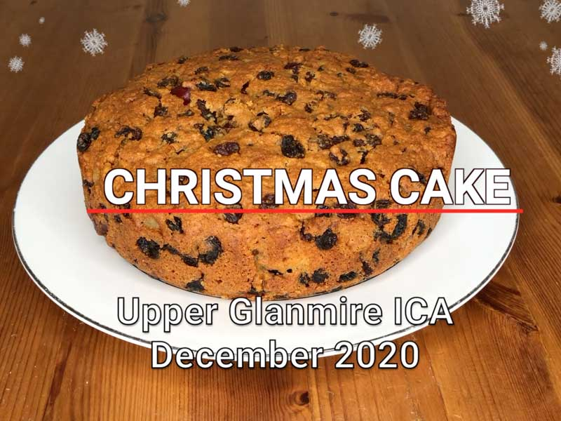 Christmas Cake Upper Glanmire ICA
