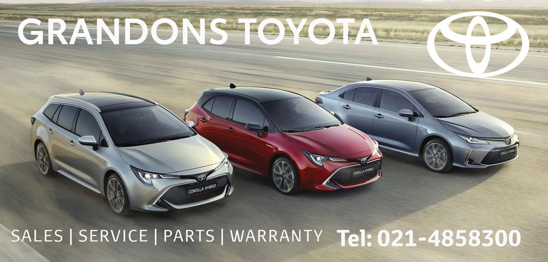 Grandons Toyota April 21