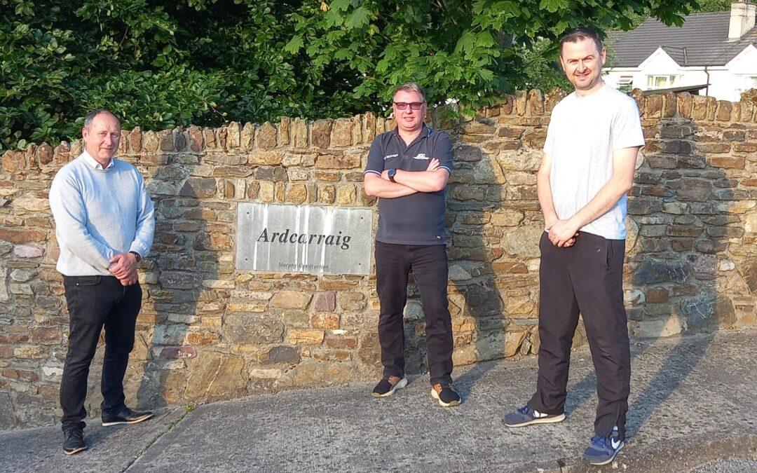 Ardcarraig Residents Association thanks Councillor Ger Keohane